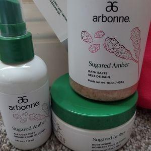 Sugared Amber Spa Gift Set